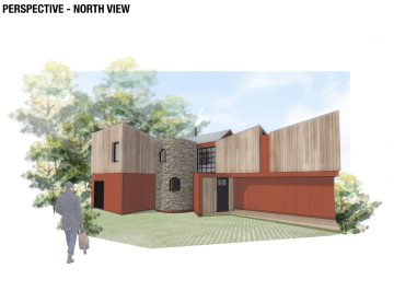 New build design for family house