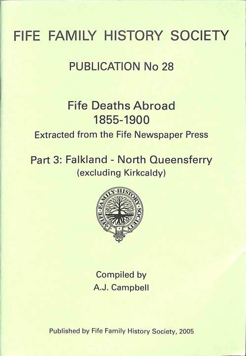 Publication 28, Fife Deaths Abroad, 1855-1900