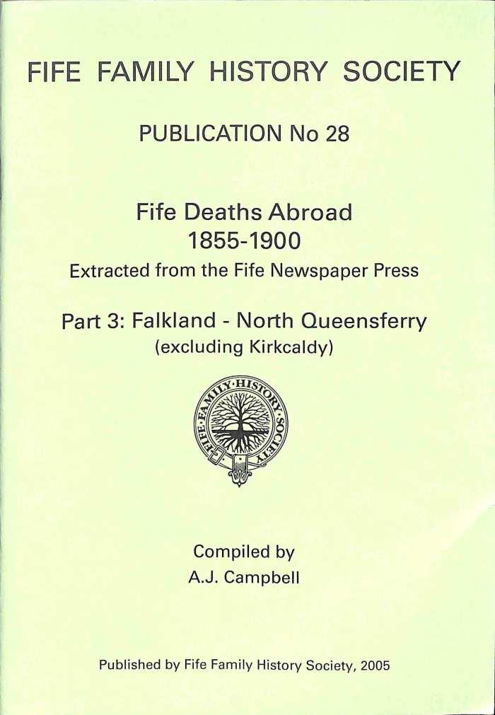 Publication 28, Fife Deaths Abroad, 1855-1900