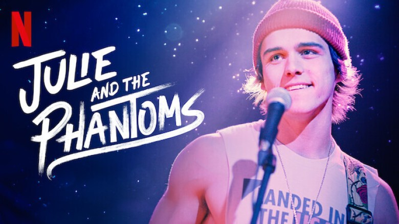 a boy standing in front of a mic; Julie and The Phantoms Season 2 release date