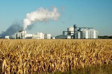 An ethanol production plant in South Dakota.
