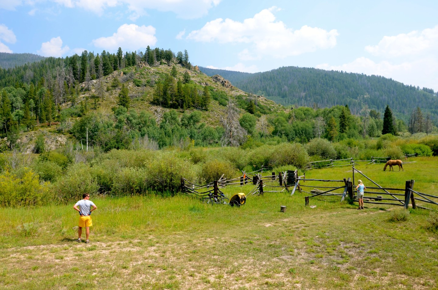 Things to do in Steamboat Springs in summer, riding horses