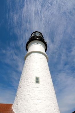A visit to the Portland Headlight in Portland, Maine