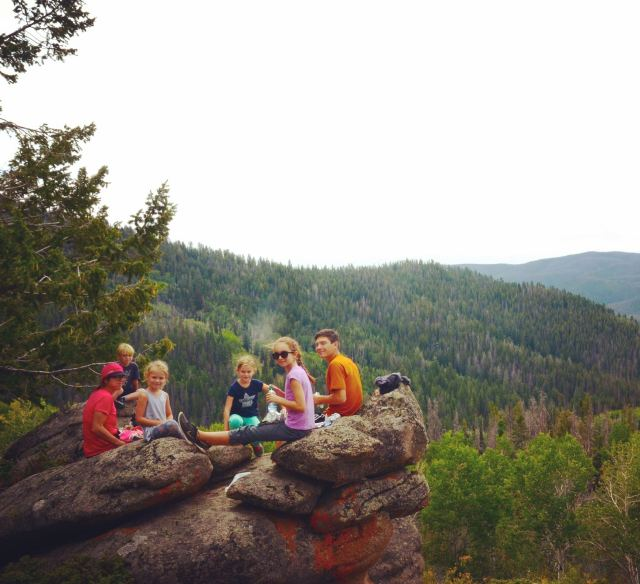 Picnic in Routt National Forest, Colorado