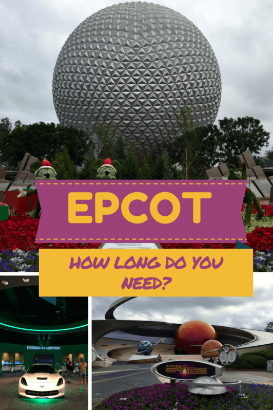 Epcot tips for your vacation to Orlando, FL