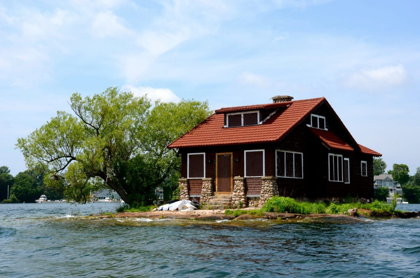 Thousand Islands in upstate New York are an adventurous place to explore and go boating.
