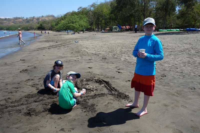 Travel Exchange - Beach time in Costa Rica.