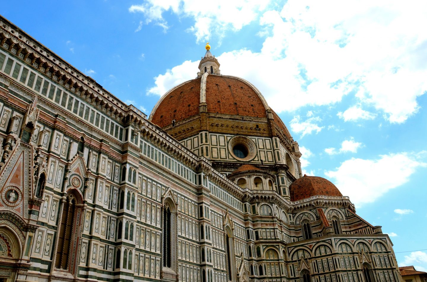 The duomo in Florence in Tuscany