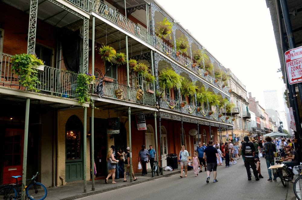 Walking around and things to do in the French Quarter in New Orleans