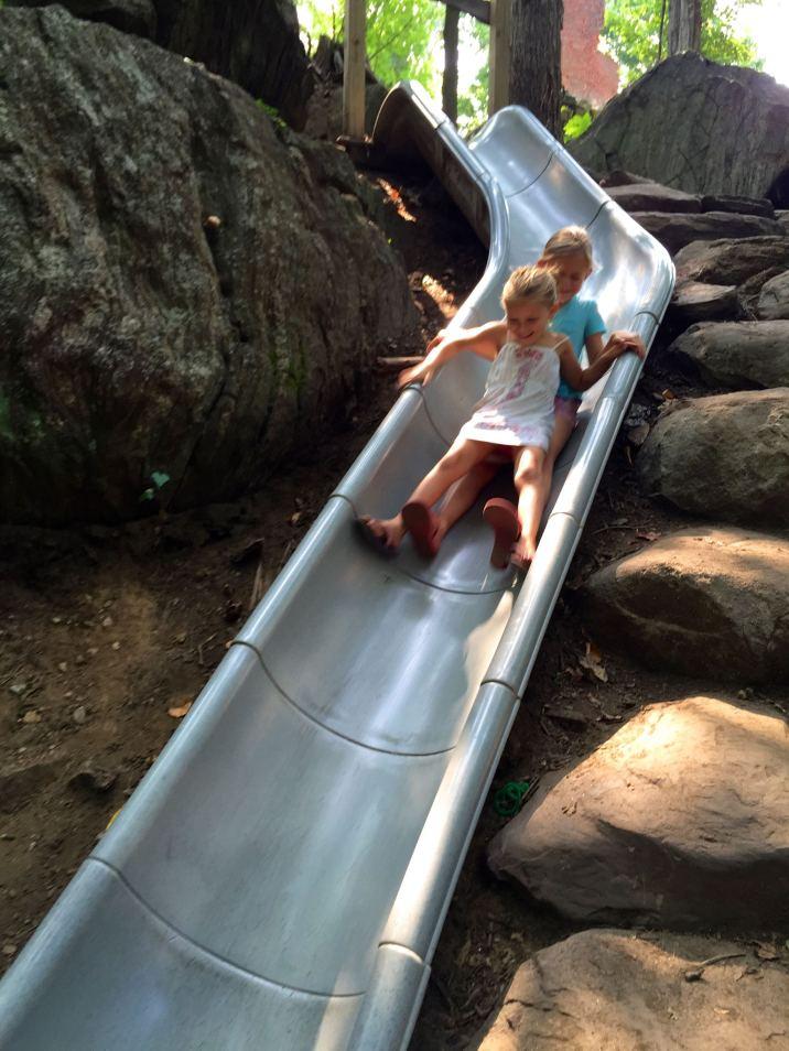 slide-rye-nature-center-wetchester-new-york-