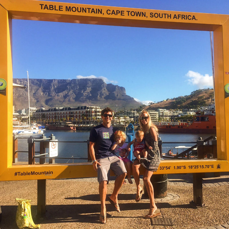 Family vacation in South Africa