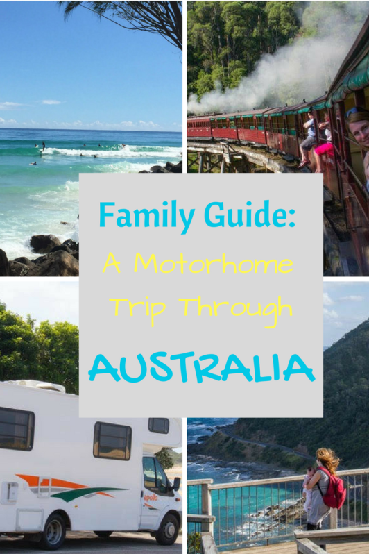 A Family Guide to a Motorhome road trip through Australia.