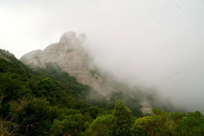 Barcelona day trip, hiking in Montserrat