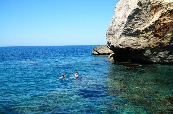 Mallorca-Deia-cove-Es-Moli-snorkeling