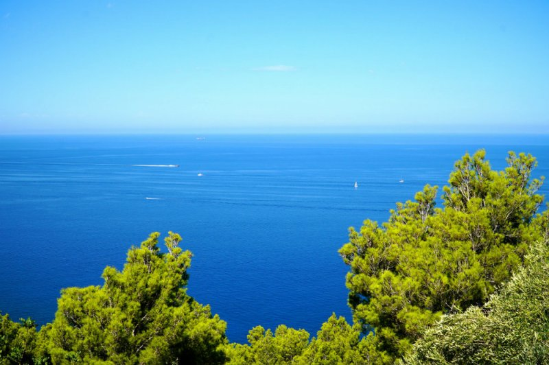 View from Ma-10 road in Western Mallorca.