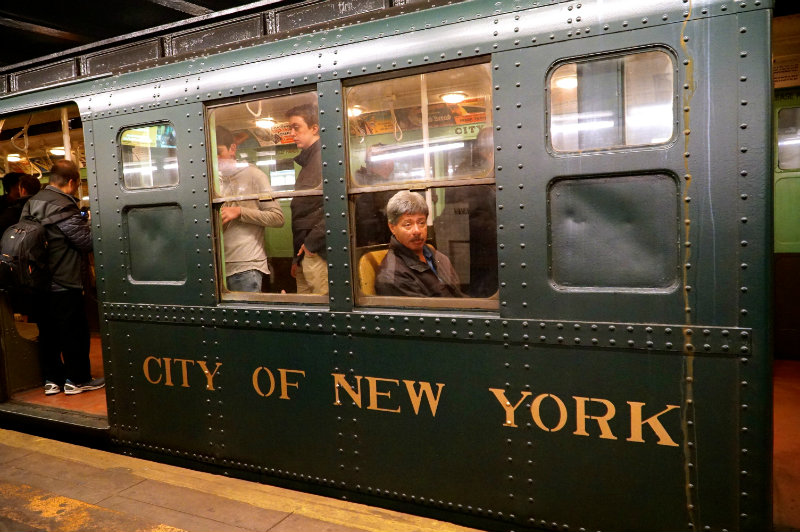 Ride on the holiday nostalgia train in New York City