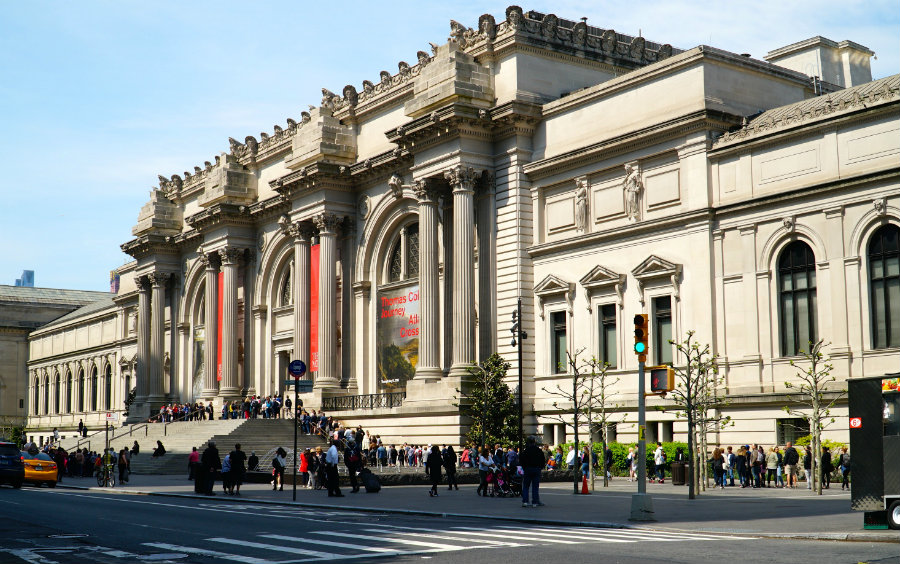 The Met is one of the most kid friendly museums in New York City