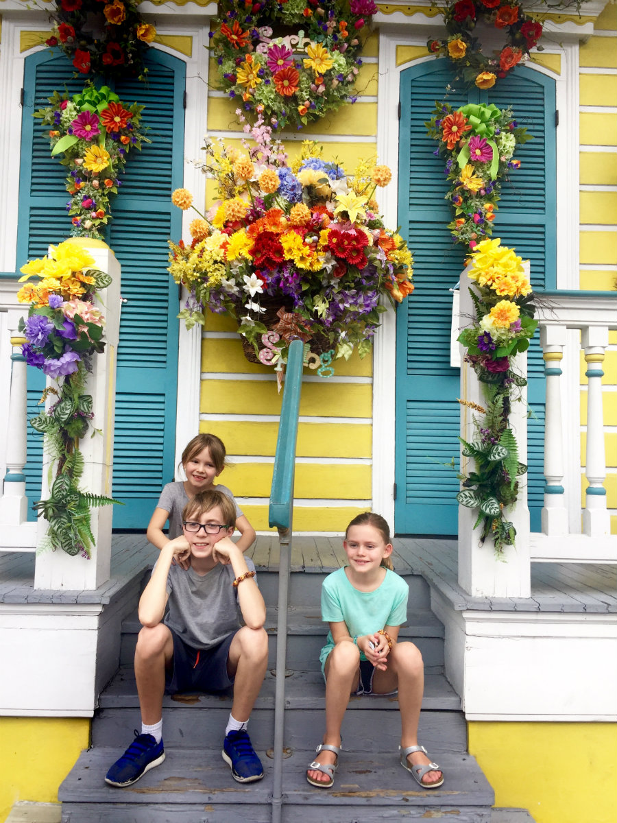 New year reflection on family vacation to New Orleans