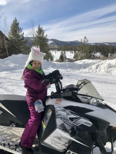 A snowmobile ride is one of the things to do in Steamboat Springs besides skiing