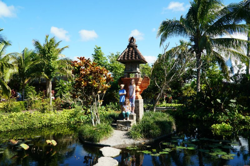 Naples Botanical Garden with kids