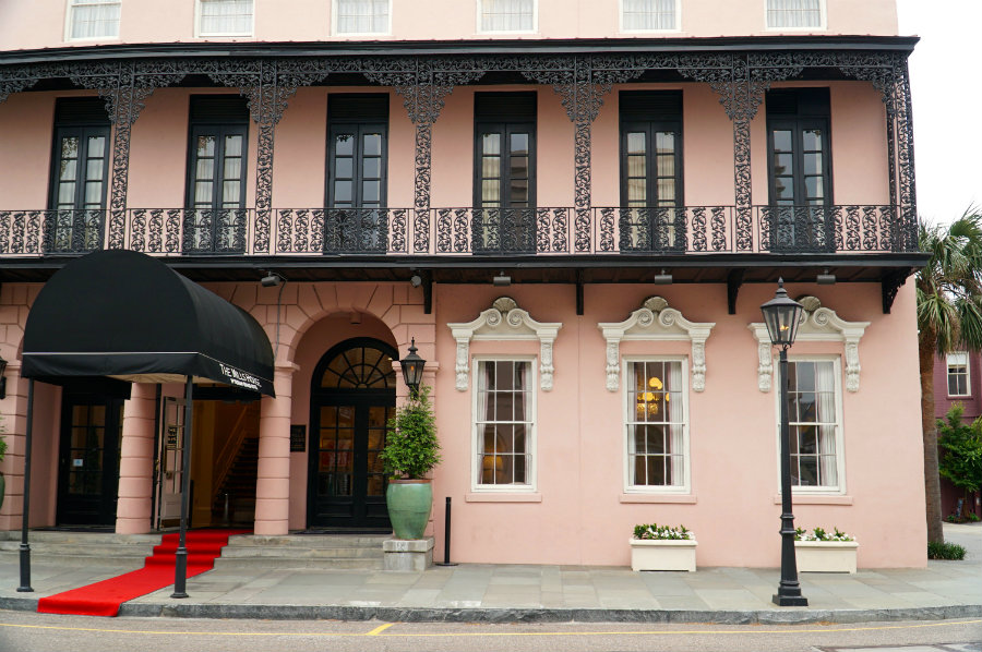 We loved the beautiful Mills House Inn on our Charleston Getaway weekend