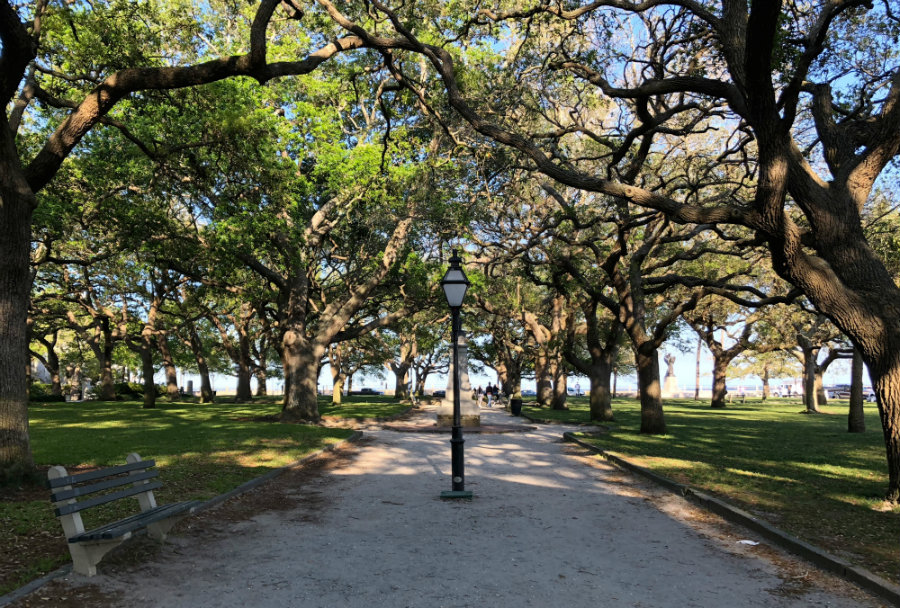 White Point Garden in the Battery in Charleston, SC is a must visit on a Charleston Getaway