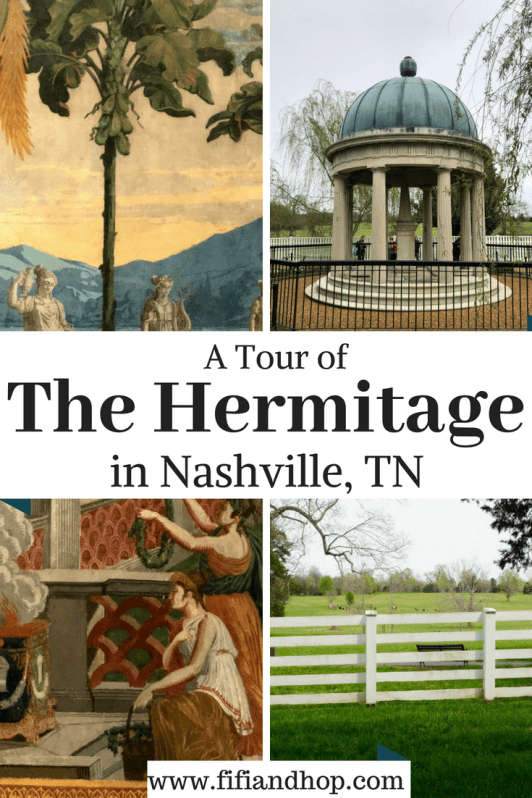 A tour of The Hermitage in Nashville, TN
