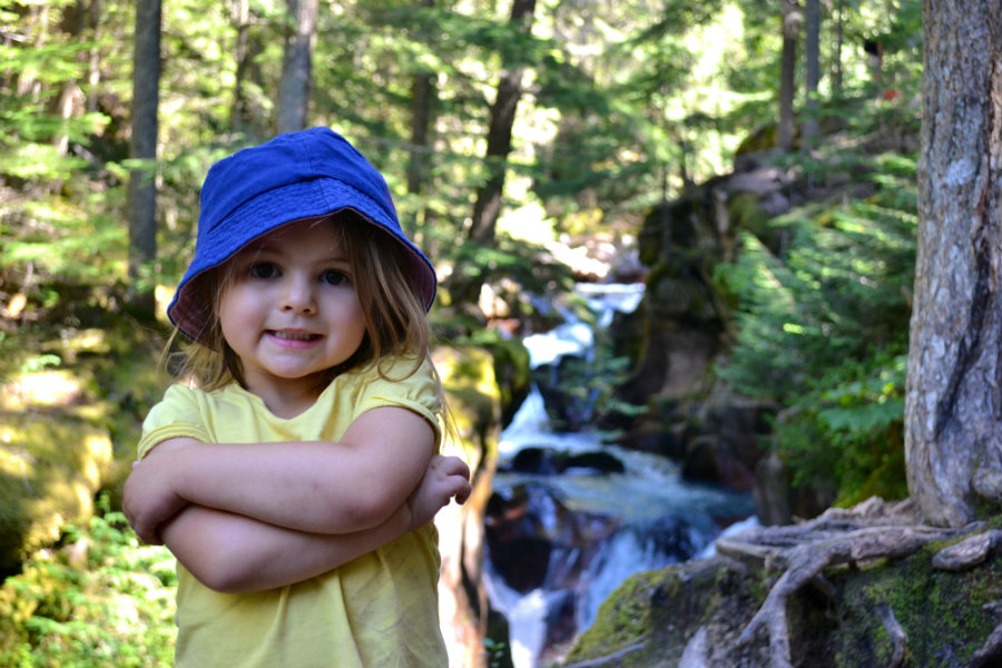 Family vacation to Glacier National Park, Avalanche Lake hike