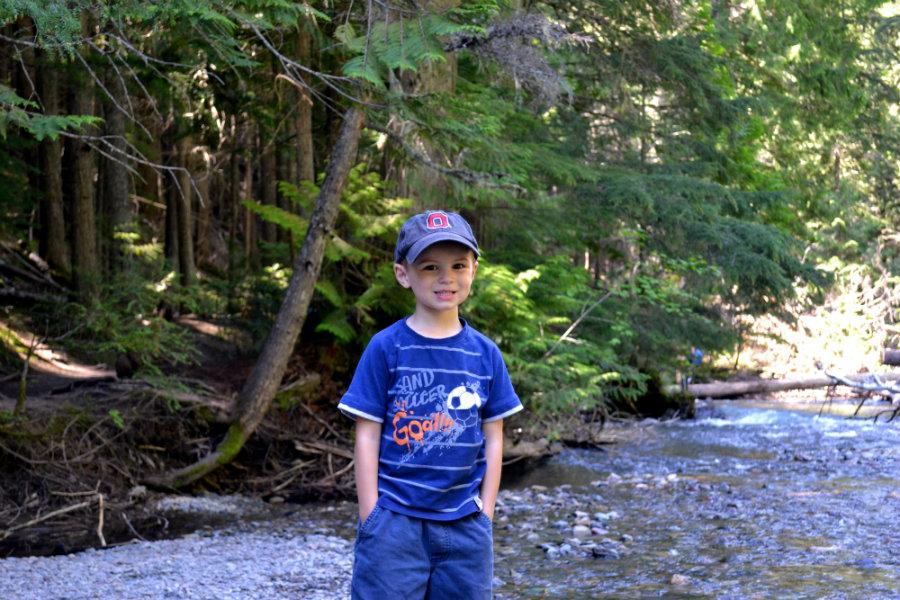 Glacier national Park family vacation, Avalanche Lake