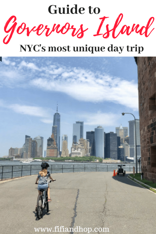 Guide to things to do on Governors Island in New York City