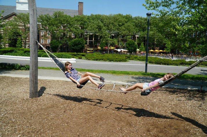 Governors-Island-swinging-hammocks
