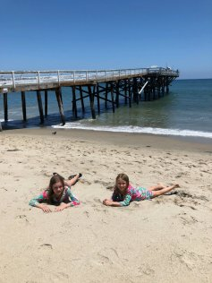 A day at Paradise Cove with kids in Malibu