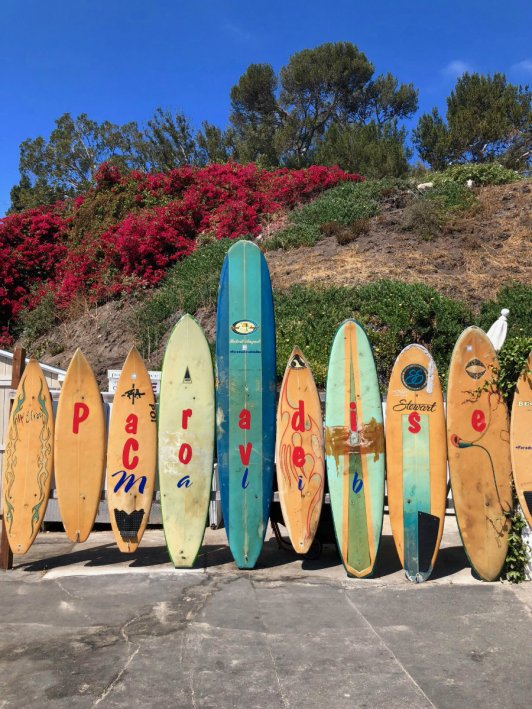 Paradise Cove surfboards