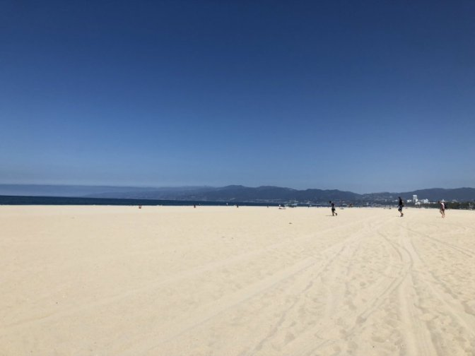 Venice Beach on the Pacific Ocean