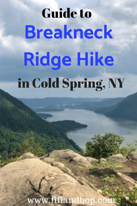 Hiking in Cold Spring, NY, Breakneck Ridge Hike