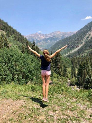 Telluride-in-summer-Bear-Creek-Trail
