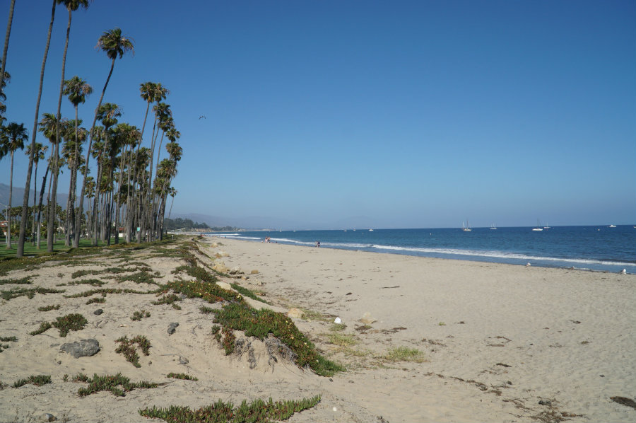 Things to do in Santa Barbara with kids, the beach