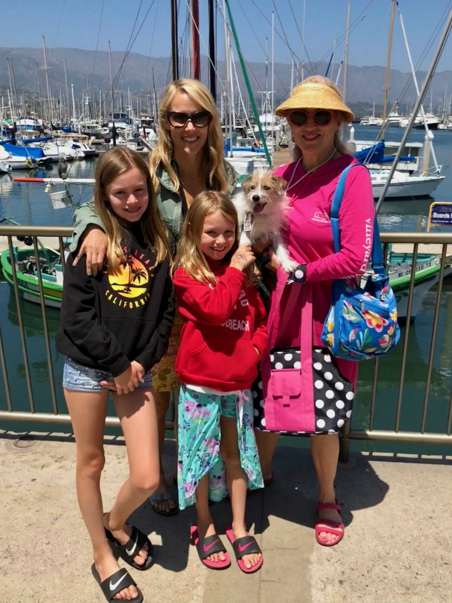 Lunch at the Santa Barbara harbor