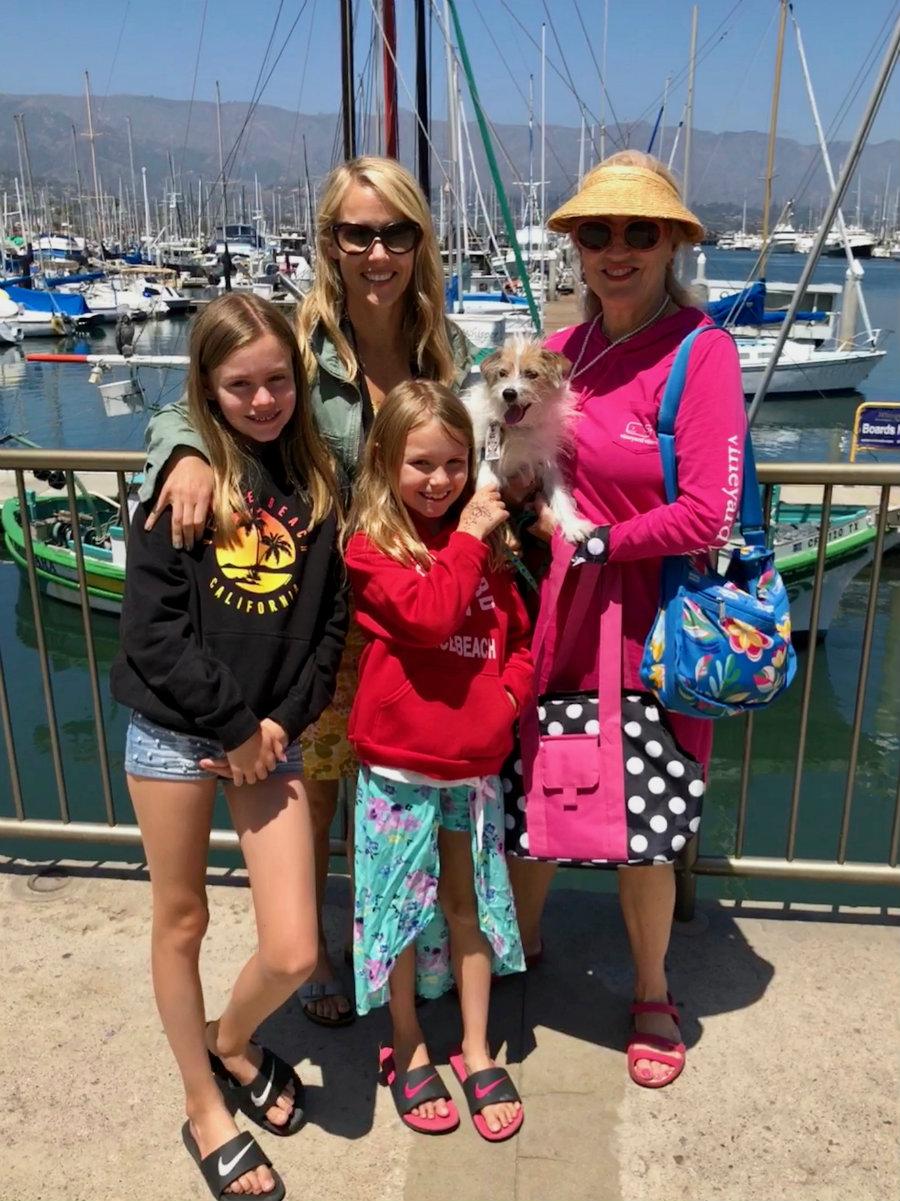 Lunch at the Santa Barbara harbor