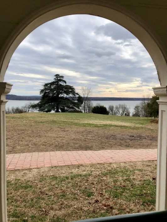 View of the Potomac River from Mount Vernon