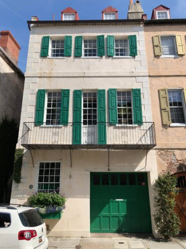 Charleston-architecture-green-shutters