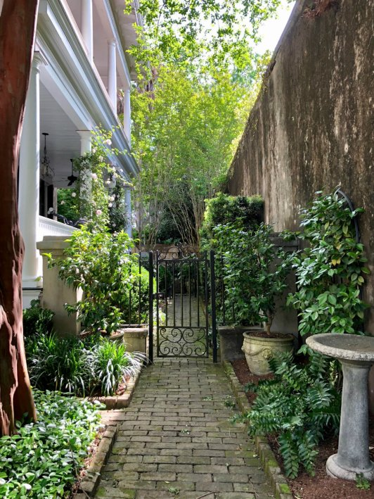 Secret alleyway in Charleston, SC
