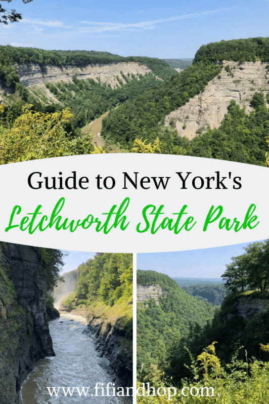 Guide to Letchworth State park in New York