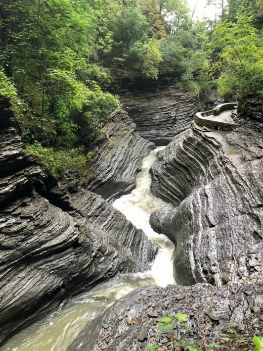 Cavern at Watkins Glen State Park in the Finger Lakes