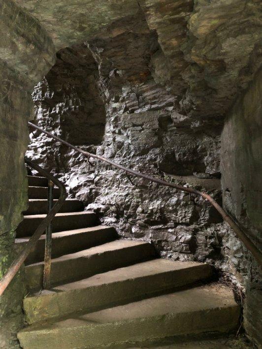 Tunnel at Watkins Glen State Park