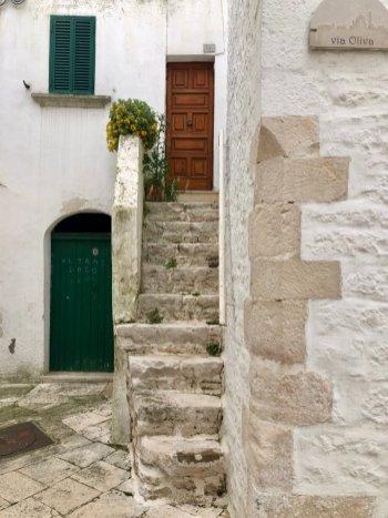 Locorotondo-staircase