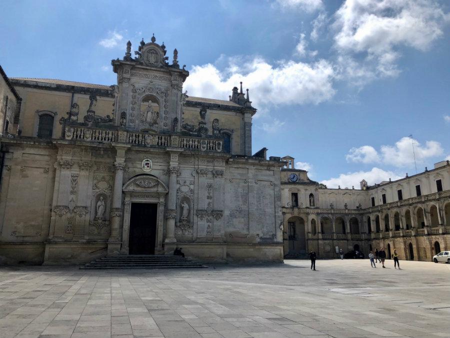 Lecce Cathedral in Lecce, Puglia