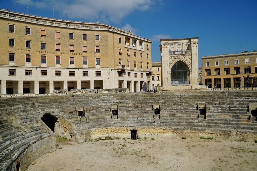 Lecce, Roman amphitheater