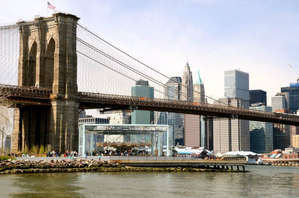 Brooklyn Bridge park, favorite New York City parks