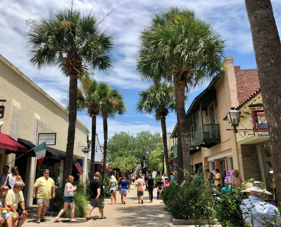 Things to do in St. Augustine Florida, walking around